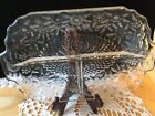 Vintage Divided Relish / Pickle Tray -Pressed Glass/Cut Glass B25