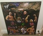 WWF Attitude Era Plaque Undertaker, The Rock, Triple H, Sable, Steve Austin, WWE