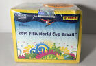 2014 Panini FIFA World Cup Brazil Factory Sealed HUGE 50 Pack Sticker Box