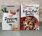 2 Weight Watchers MAIN Smart Points DIET Plan Shopping + Dining Out Guide Books