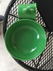 Fiesta ware  vintage Medium Green 7 Inch Bowl And Coffee Mug