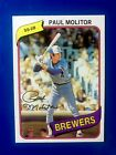 Paul Molitor Cards, Rookie Card and Autographed Memorabilia Guide 11