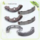 Front+Rear Brake Shoes for Honda Rancher 350 Rancher 400 Foreman 400 Foreman 450