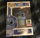 Sadness Funko POP! Disney Pixar Inside Out 2015 Summer Con Exclusive SDCC