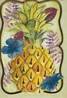 Embellished Pineapple Blank Note Card With Full Color Envelope