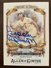 Brooks Robinson Auto Signed 2017 Topps Allen & Ginter What a Day Hall Of Fame