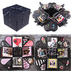 Surprise Explosion Gift Box DIY Scrapbook Photo Album For Valentines Day Party