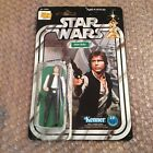 Star Wars Vintage Kenner 1977 Han Solo Small Head Card Back Rare Stunning