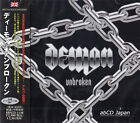 DEMON - Unbroken +3 / New OBI Japan CD 2013 / Hard Rock NWOBHM