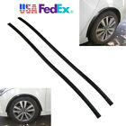 2x 117cm Arch Wide Car SUV Fender Flare Extension Black Protector Lip Wheel-Arch
