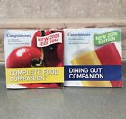 SET of 2 Weight Watchers Points Program COMPLETE FOOD DINING OUT COMPANION Books