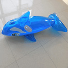 BLUE WHALE inflatable pool float ride on toy