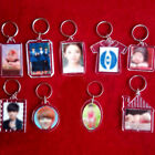 3PCS Photo Frame Keyring Keychain For Family Friends Couple Gifts Key Chain