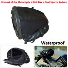 Motorcycle Bike Sports Waterproof Back Seat Carry Bag Saddlebag Luggage Tail Bag