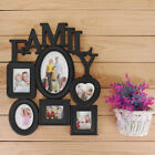 Family Wall Hanging Collage Photo Frame Picture Display Wedding Decor Gift US