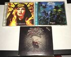 Lot (9) King Diamond Albums Fatal Portrait Abigail Voodoo Graveyard BMG Club Ed.