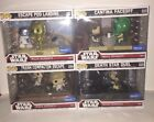 Funko Pop! Star Wars Movie Moments #222, #223, #224, #225 Wal-Mart Exclusive LOT