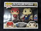 Funko Pop! Heroes DC Justice League The Flash & Superman 2 Pack NYCC Exclusive