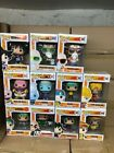 Funko POP Animation Dragonball Z set of 11 with exclusive Master Roshi max power