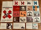 16 X BANKSY Artwork CD Covers Official Illustrated by BANKSY - RARE Original