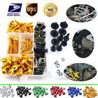 For KTM 1190 RC8R 2009 2010 2011 CNC Fastener Fairing Bolt Kit Body Screws Clips