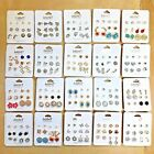 Wholesale Lot 50 or 100 Pairs New Assorted Cute Stud Earrings FREE SHIPPING