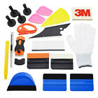 Pro Car Window Tint Wrap Vinyl Tool Kits Squeegee Scraper Razor Glove Applicator