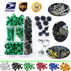 Fairing Bolts Nuts Screws For Kawasaki 1000R KLR250 KLR650 GPz 550 750 1100