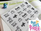 PP490 FUK YOU Snarky Adulting Is Hard Planner Stickers 4 Erin Condren 20pcs