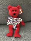 TY Beanie Baby - ACES the Bear (Las Vegas Exclusive) 2006