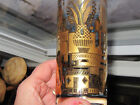 Set of 6 Vintage Georges Briard  22K Gold City Scape High Ball Glasses RARE
