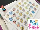 PP433 Happy Easter Bunny Countdown Planner Stickers for Erin Condren 35pcs