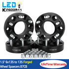 4x Black 15 HubCentric Wheel Spacers Adapters 6x135 For 2004 2014 Ford F 150