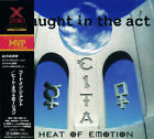 C.I.T.A. (CAUGHT IN THE ACT) Heat Of Emotion JAPAN CD XRCN-1285 1996 OBI