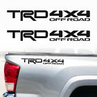 Toyota Trd 4x4 Off Road Racing Tacoma Tundra Truck Decals Vinyl Stickers No-line
