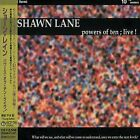 SHAWN LANE Powers Of Ten ; Live JAPAN CD KICP-795 2001 OBI