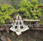 Handmade Vintage Small Sextant Marine Collectible Astro Xmas Gift For Relatives