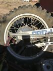 1985 Honda CR250 CR500 Rear Wheel Assembly  Rim 1984 85 Ahrma Brake Hub Cr250 Cr