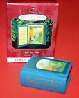 HALLMARK ORNAMENT 1997  LITTLE BOY BLUE # 5 IN THE MOTHER GOOSE SERIES