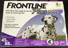 Frontline Plus Flea Tick  Insect Control For Dogs 45 88 LBS 3doses 7209