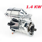 Chrome Starter Motor for Harley 1340 1450 Electra Glide Road King Ultra Classic
