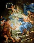 Gobelin Tapestry Needlepoint Kit Nativity printed canvas 579