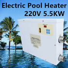 Electric Swimming Pool Automatic Water Heater 55KW220V Water Heating Thermostat