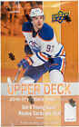 2016-17 UPPER DECK SERIES ONE FACTORY SEALED HOBBY BOX (24 PACKS)