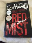 Special Signed First Edition Patricia Cornwell Red Mist H B