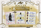 2018 LEAF SOCCER IMMORTAL COLLECTION HOBBY 4 BOX CASE