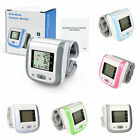 Automatic Wrist Blood Pressure Monitor pulse Rate Tester Meter Machine P1B0