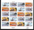 BELOW FACE VALUE 3091 3095 RIVERBOATS MINT SHEET F VF NEVER HINGED