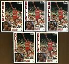 MICHAEL JORDAN LOT OF FIVE 1992 ARCHIVES 1984 TOPPS STYLE ROOKIE CARDS #52 BULLS