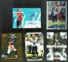 LOT (5) AUTO SSP XFRACTOR BRILLIANTS GOLD TOM BRADY DREW BREES CHROME REFRACTOR